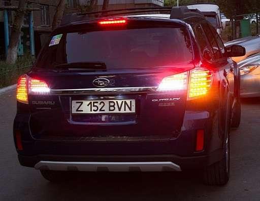 Тюнинг фонари задняя оптика Subaru Outback 2010+ в г. Запорожье Фото 4
