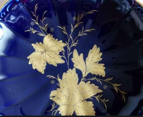 Royal KPM Bavaria. Крас. конфетница на ножке.20см в г. Франкфурт-на-Майне Фото 2