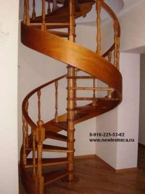 Красивые лестницы для дома и коттеджа Новая Лестница в Дмитрове Фото 1