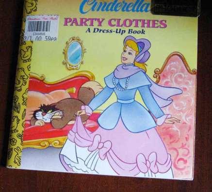 Детская книжка-малышка Золушка на англ языке