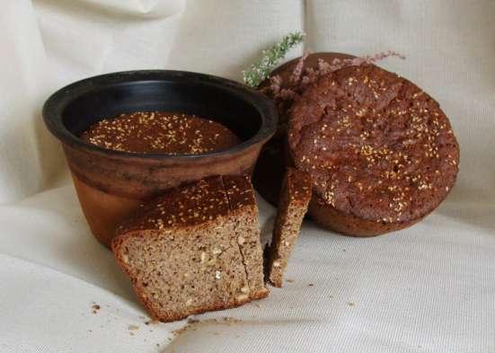 Хлеб ржаной бездрожжевой в Екатеринбурге Фото 1