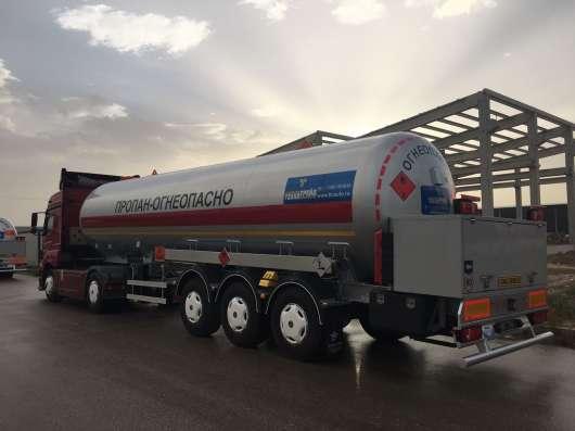 Газовоз. газовая автоцистерна 38 м3. с насосом электрическ