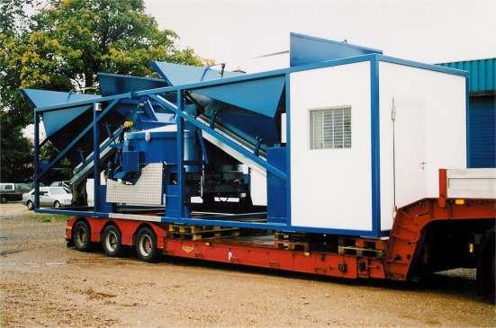 Мобильная бетоносмесительная установка Sumab K-80