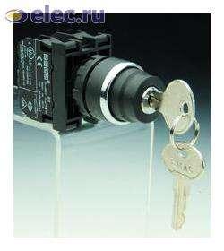 Kнопки нажимные, джойстики, кнопки с ключом B102A20 EMAS