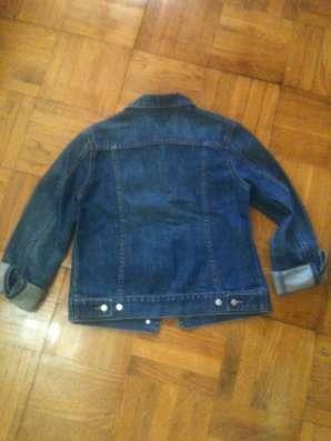 Джинсовый пиджак стоковый Греция