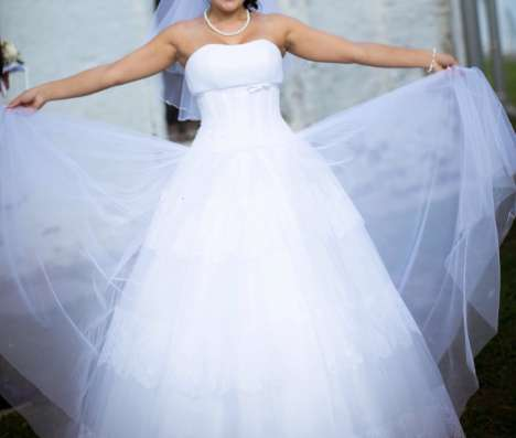 Свадебное платье от Anna Bogdan