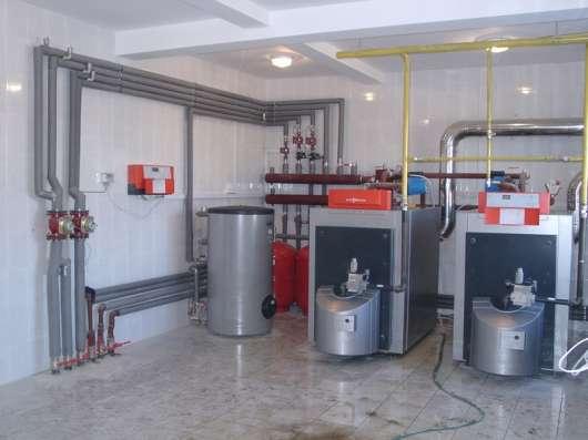 Отопление, водоснабжение в Москве Фото 1