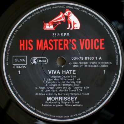 Morrissey - Viva Hate в Санкт-Петербурге Фото 2