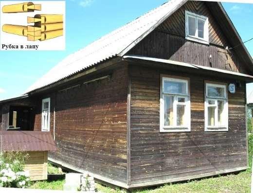 Дом 64 m2. из брев ели на вывозТорг