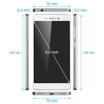 Новый. bluboo Picasso 3G Android 5.1 5.0