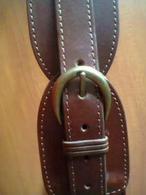 широкий коричневый ремень №51