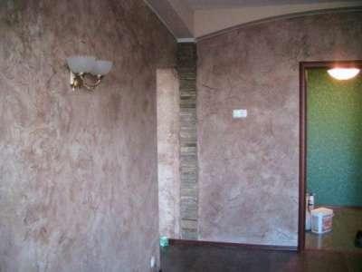 Декоративная штукатурка стен в Сочи Фото 1
