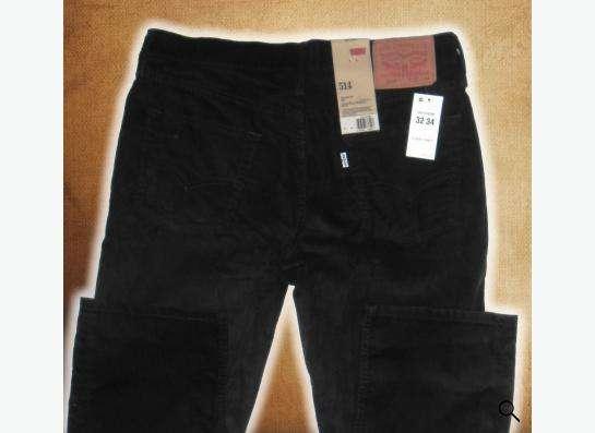 Красивые вельветовые джинсы Levis 514 32х34 в Москве Фото 2