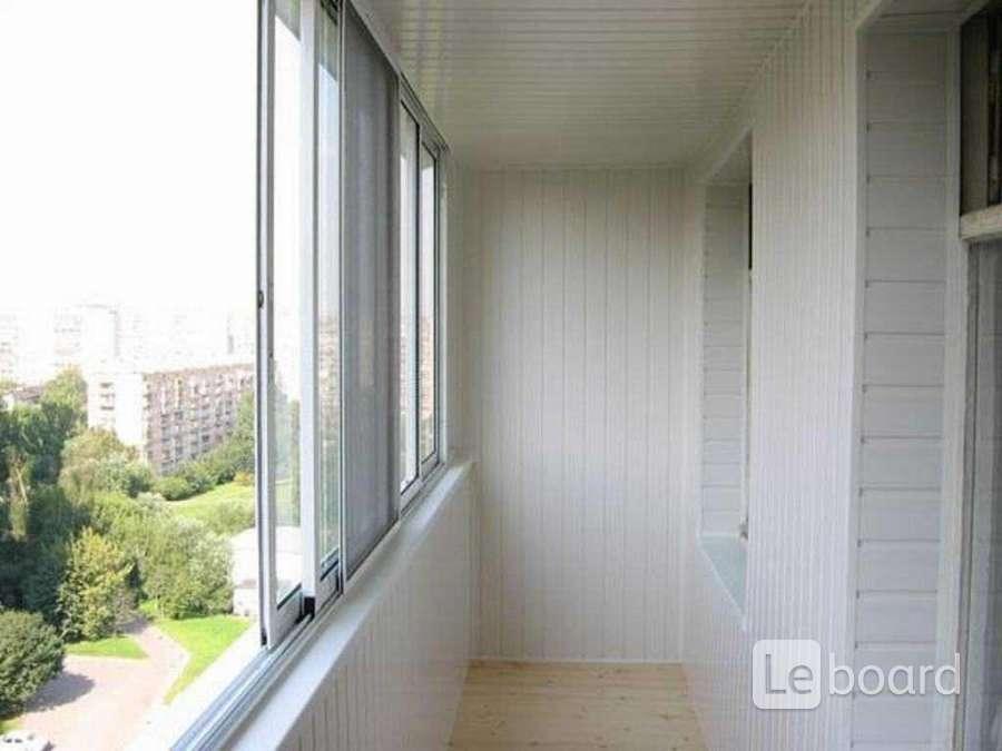 Окна из алюминия на 6 м балкон в королёве.