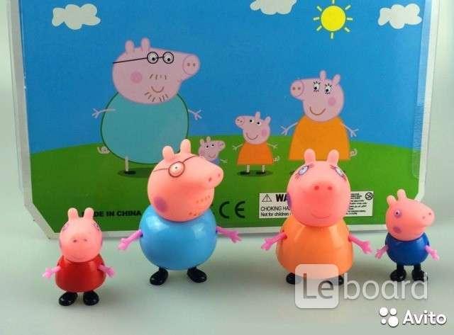 игры со свинкой пеппой в куклы