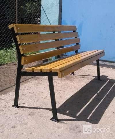 Сделать скамейку из профиля
